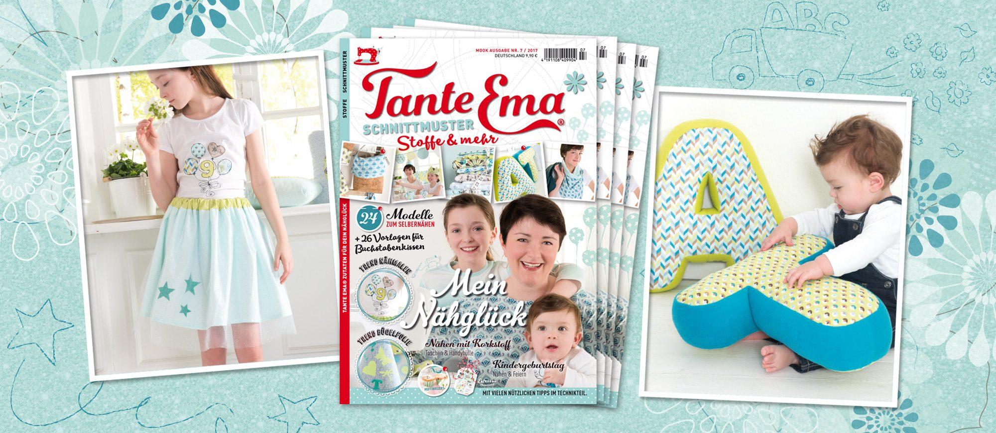 Tante Emas® Nähzeitschrift MOOK Nr. 7