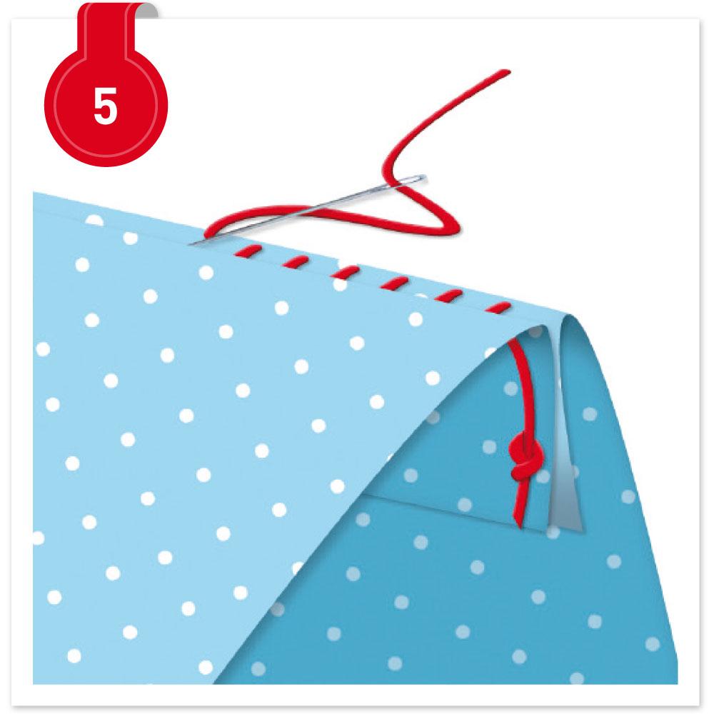 Nähtipp zum Sonntag:Tante Emas® Nähvokabeln Nr. 5 - der Blindstich