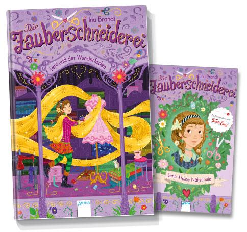 Arena-Verlag Die Zauberschneiderei: Leni und der Wunderfaden