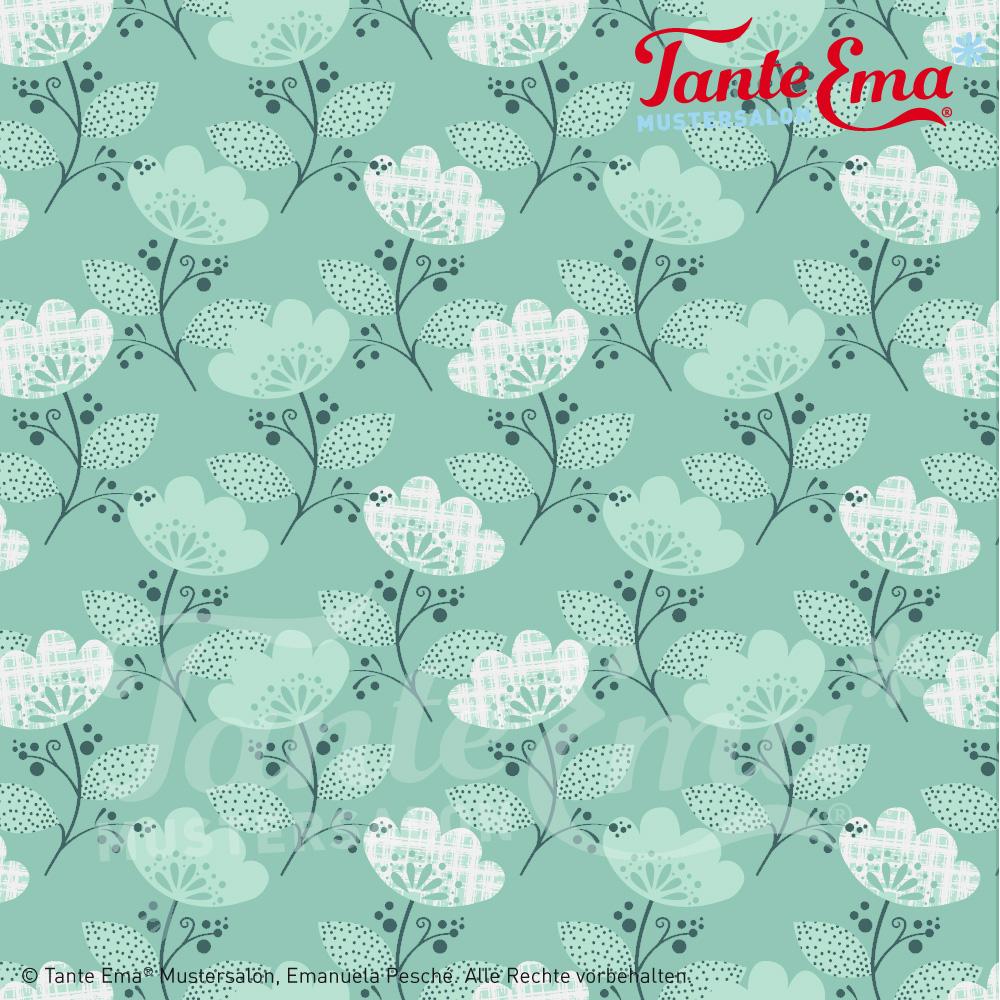 Tante Ema® Blütenmagie aus Love & Magic (Herbst/ Winter Kollektion 2017 Fröhlicher Freitag! 10% Rabatt auf Tante Ema® Stoffe