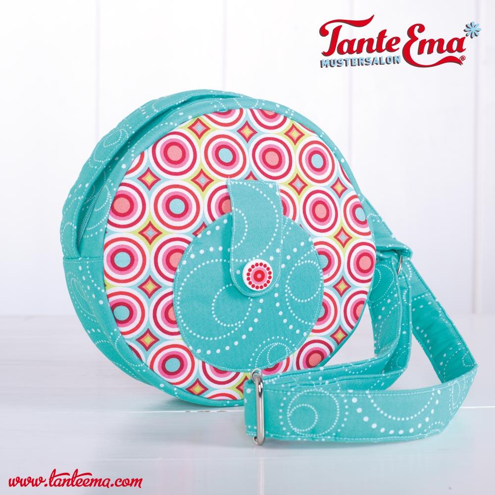 Tante Emas® Umhängetasche aus dem Schnittmuster Nr. 5 (Kleines Nähglück)