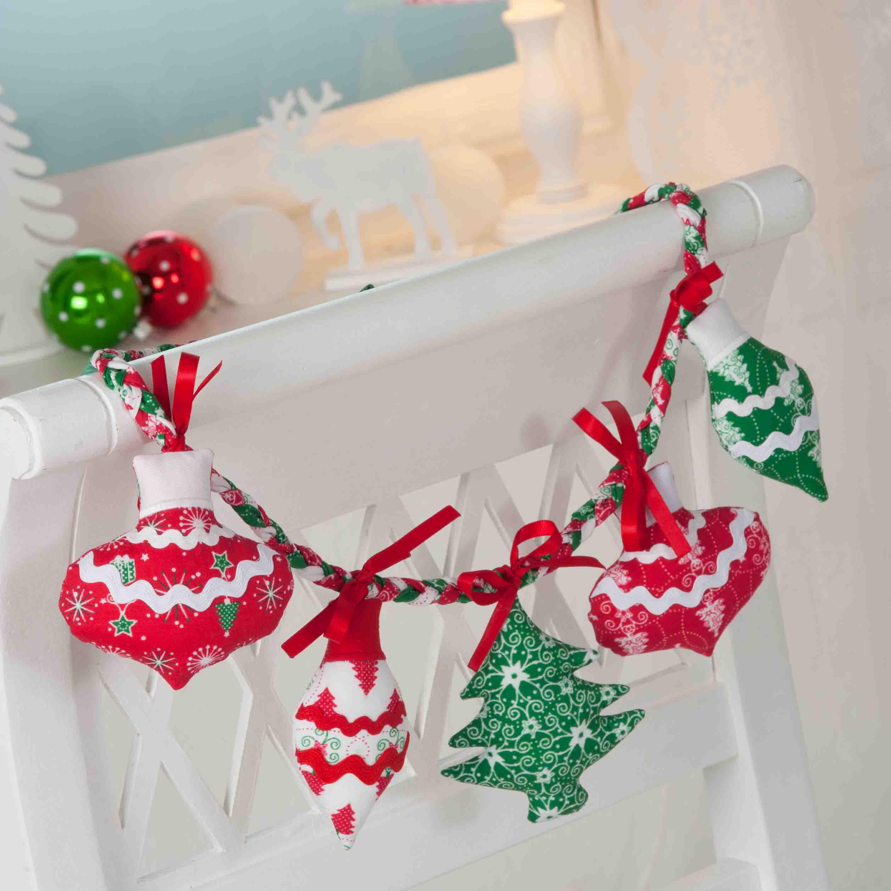 Witzige weihnachtliche Anhänger (Tante Ema Kleines Nähglück Nr. 8 und Nr. 9)