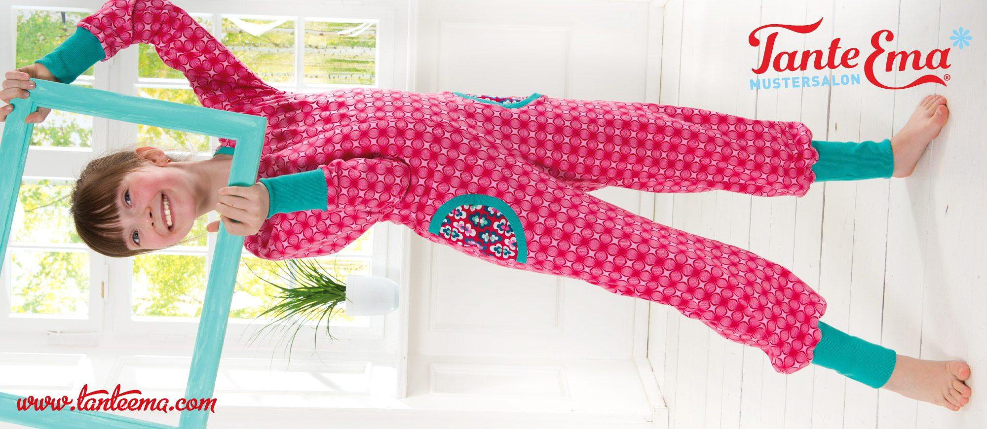 Tante Ema® Großes Nähglück Nr. 10: Kinder-Jumpsuit